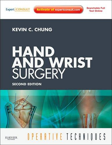 9781437715217: Operative Techniques: Hand and Wrist Surgery: Book, Website and DVD, 2-Volume Set (Expert Consult - Online and Print), 2e