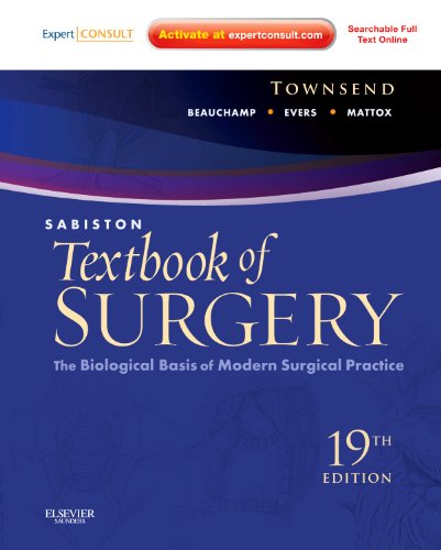 9781437715606: Sabiston Textbook of Surgery: The Biological Basis of Modern Surgical Practice (Expert Consult Premium Edition - Enhanced Online Features and Print), 19e