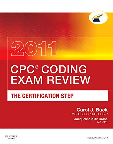 9781437716573: CPC Coding Exam Review 2011: The Certification Step (CPC Coding Exam Review: Certification Step)