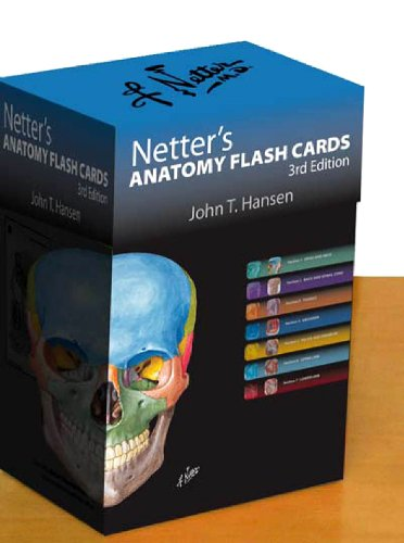 9781437716757: Netter's Anatomy Flash Cards: with Online Student Consult Access, 3e (Netter Basic Science)