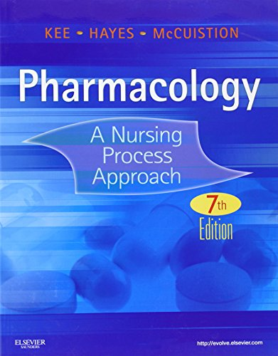 9781437717112: Pharmacology: A Nursing Process Approach, 7e (Kee, Pharmacology)