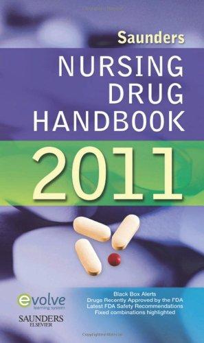 9781437719291: Saunders Nursing Drug Handbook 2011