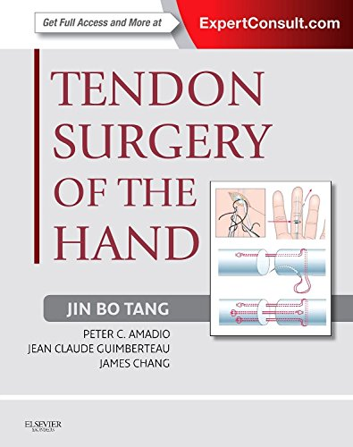 9781437722307: Tendon Surgery of the Hand: Expert Consult - Online and Print, 1e
