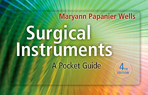 9781437722499: Surgical Instruments: A Pocket Guide, 4e