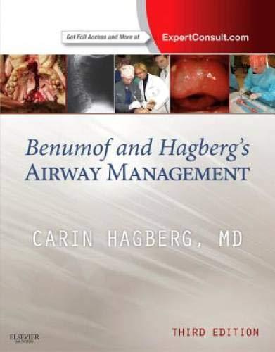 9781437727647: Benumof and Hagberg's Airway Management, 3e