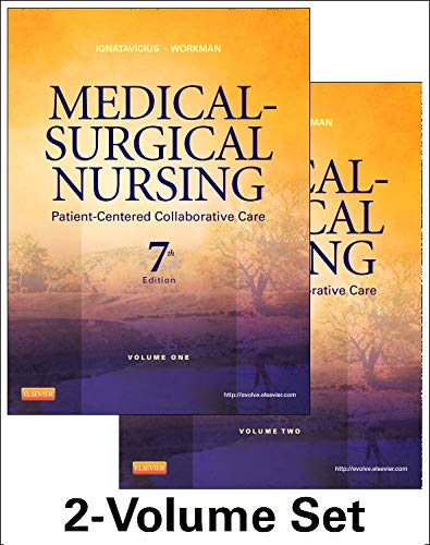 9781437727999: Medical-Surgical Nursing: Patient-Centered Collaborative Care, 7th Edition (2 Volumes)
