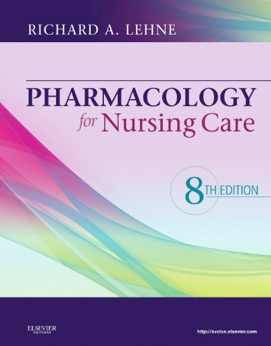 9781437735826: Pharmacology for Nursing Care