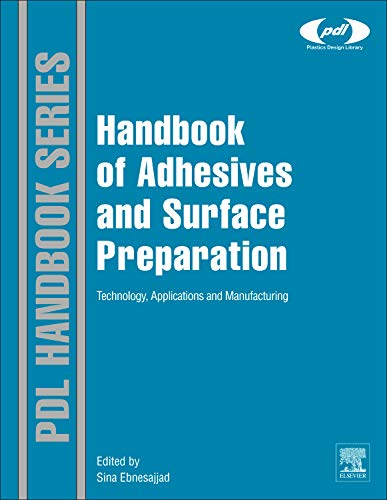 9781437744613: Handbook of Adhesives and Surface Preparation: Technology, Applications and Manufacturing (Plastics Design Library)