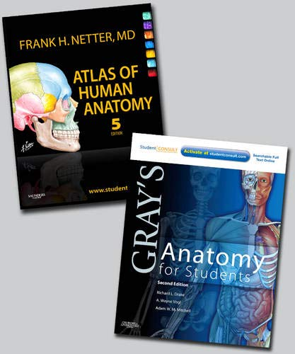 9781437756920: Netter Atlas of Human Anatomy and Gray's Anatomy for Students Package, 1e
