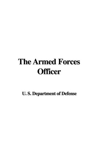 9781437850802: The Armed Forces Officer