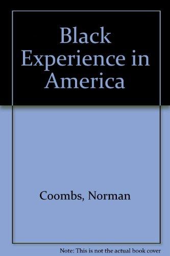 9781437891140: Black Experience in America