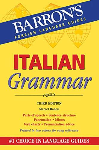 9781438000046: Italian Grammar, 3rd Edition (Barrons)