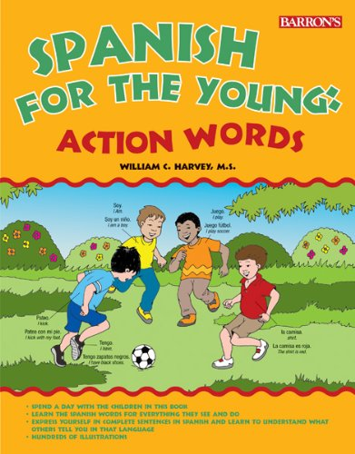 9781438000145: Spanish for the Young: Action Words!