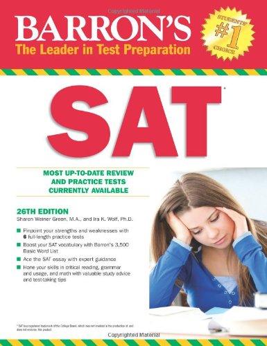 9781438000190: Barron's SAT, 26th Edition