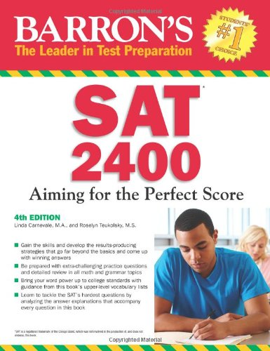 9781438000206: Barron's SAT 2400, 4th Edition