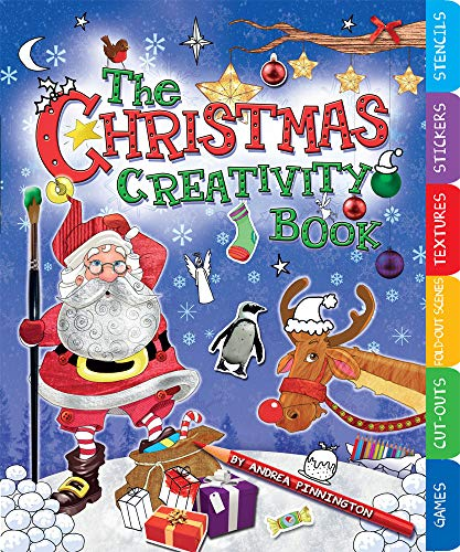 9781438000374: The Christmas Creativity Book: Includes Games, Cut-Outs, Fold-Out Scenes, Textures, Stickers, and Stencils (Creativity Books)