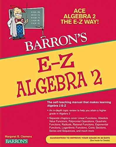 9781438000398: E-Z Algebra 2 (Barron's E-Z Series)