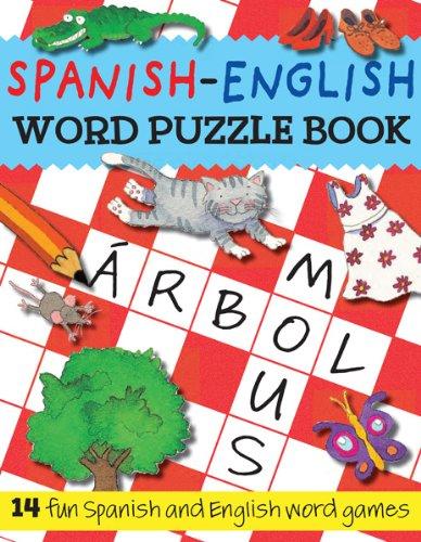 9781438000534: Spanish-English Word Puzzle Book: 14 Fun Spanish and English Word Games (Bilingual Word Puzzle Books) (Spanish Edition)