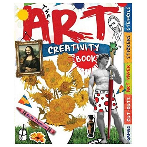 9781438001265: The Art Creativity Book: With Games, Cut-Outs, Art Paper, Stickers, and Stencils (Creativity Books)