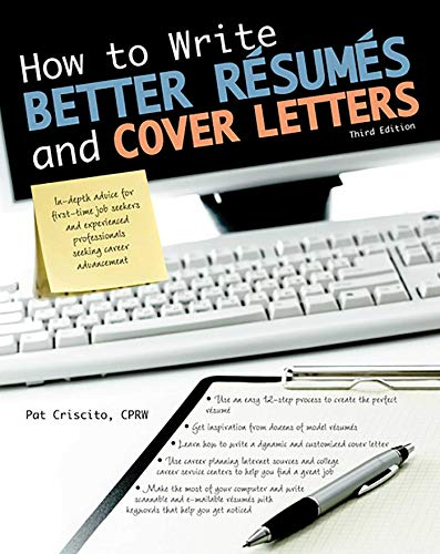 9781438001470: How to Write Better Résumés and Cover Letters (Barron's How to Write Better Resumes & Cover Letters)