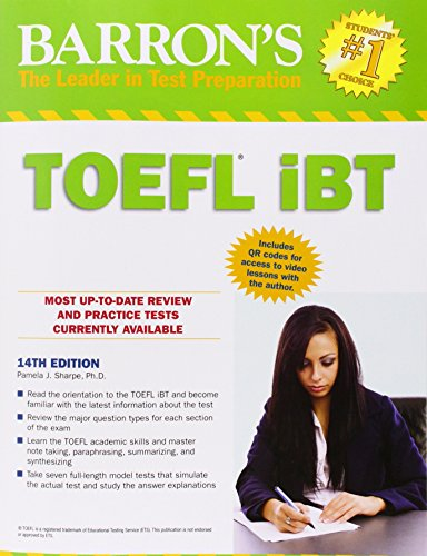 9781438001562: Barron's TOEFL iBT, 14th Edition
