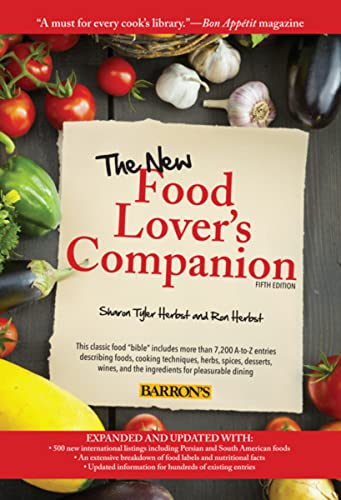 The New Food Lover's Companion (1438001630) by Ron Herbst; Sharon Tyler Herbst