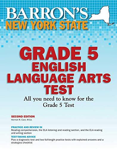 Barron's New York State Grade 5 English: Hermon R. Card