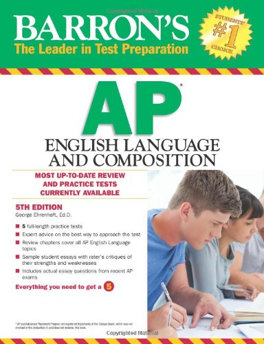 9781438002033: Barron's AP English Language and Composition, 5th Edition