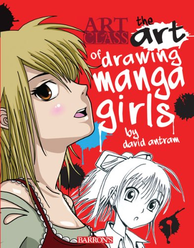 9781438002330: The Art of Drawing Manga Girls (Art Class)