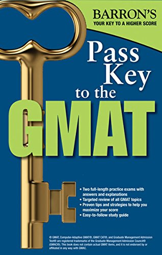 9781438002484: Pass Key to the GMAT (Barron's Pass Key to the GMAT)