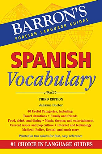9781438002569: Dueber, J: Spanish Vocabulary (Barron's Vocabulary)