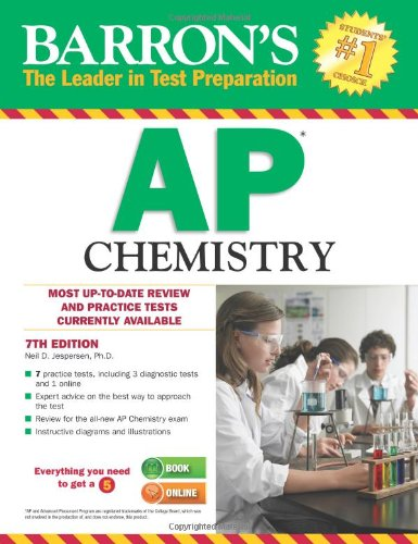 9781438002712: Barron's AP Chemistry, 7th Edition