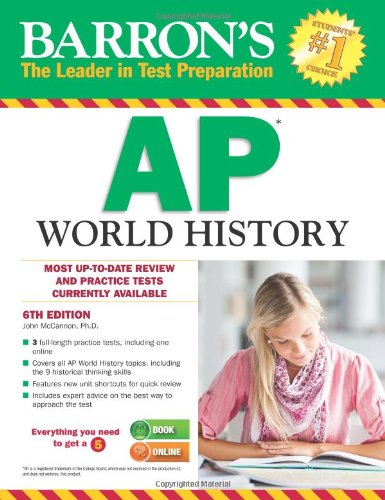 9781438002729: Barron's AP World History, 6th Edition