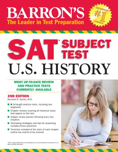 9781438003115: Barron's SAT Subject Test in U.S. History, 2nd Edition