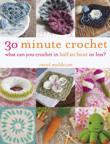 9781438003313: 30 Minute Crochet: What Can You Crochet in Half an Hour or Less?