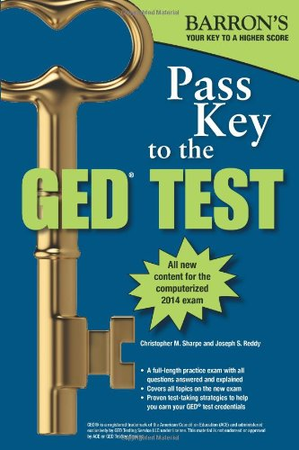 Pass Key to the GED (Barron's Pass Key to the Ged): Christopher Sharpe; Joseph Reddy