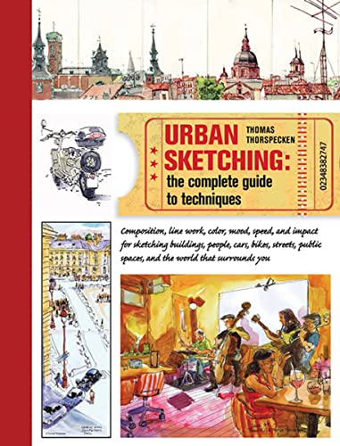 9781438003412: Urban Sketching: The Complete Guide to Techniques