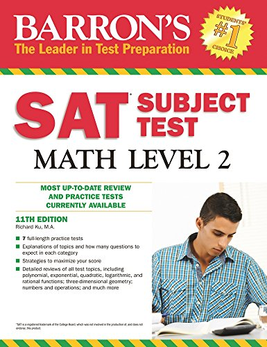 9781438003740: Barron's SAT Subject Test Math Level 2, 11th Edition