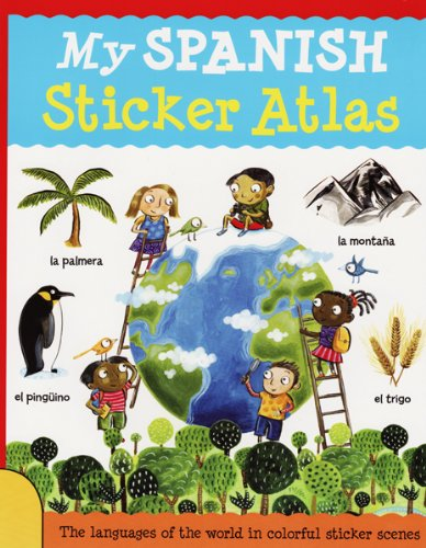 9781438003887: My Spanish Sticker Atlas