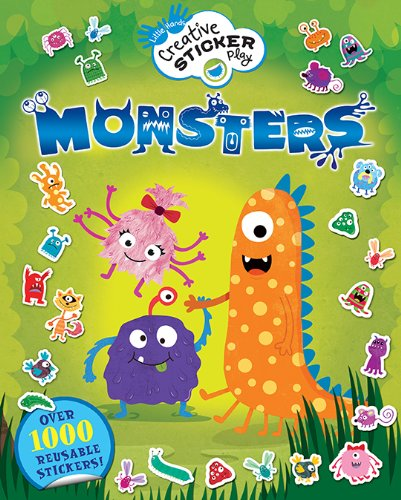 9781438003894: Monsters: Over 1000 Reusable Stickers! (Little Hands Creative Sticker Play)