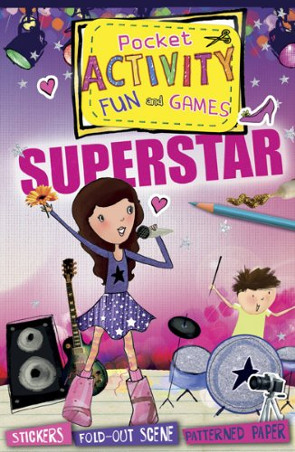 9781438004488: Superstar Pocket Activity Fun and Games: Games and Puzzles, Fold-out Scenes, Patterned Paper, Stickers!