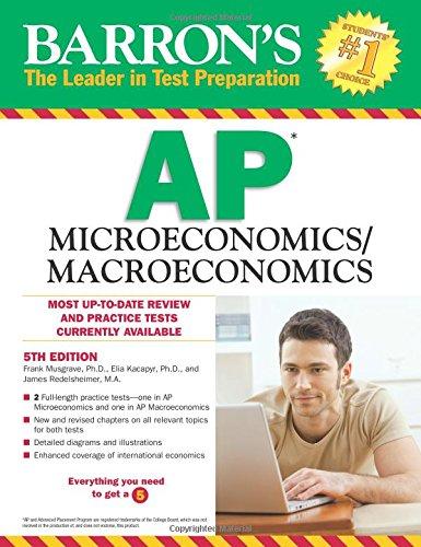 9781438004952: Barron's AP Microeconomics/Macroeconomics, 5th Edition