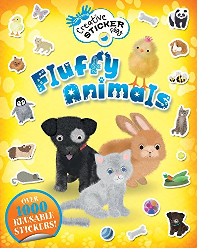 9781438005676: Fluffy Animals: Over 1000 Reusable Stickers! (Little Hands Creative Sticker Play)
