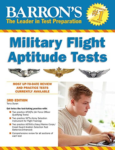 Barron's Military Flight Aptitude Tests: Duran, Terry