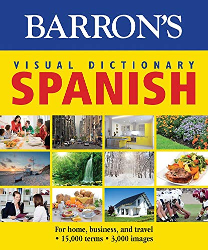 9781438006031: Barron's Visual Dictionary Spanish