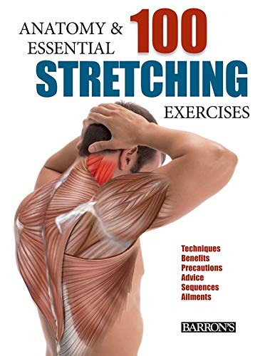 9781438006178: Anatomy and 100 Essential Stretching Exercises
