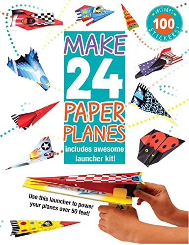 Make 24 Paper Planes Includes Awesome Launcher Kit