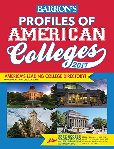 9781438006895: Profiles of American Colleges 2017 (Barron's Profiles of American Colleges)
