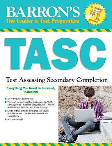 Tasc/Test Assessing Secondary Completion: Sharpe, Christopher; Reddy, Joseph