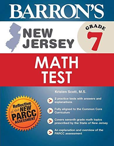 Barron's New Jersey Grade 7 Math Test: Scott, Kristen